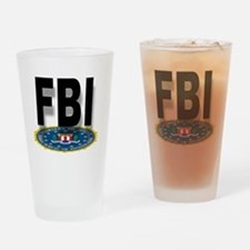 Cute Fbi badges Drinking Glass