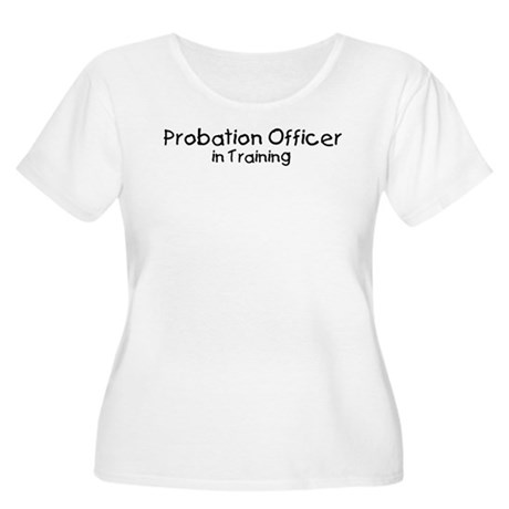 Probation Officer in Training Women's Plus Size Sc