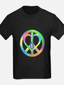 Peace Love Music T