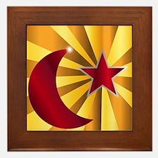 Cool Eid Framed Tile