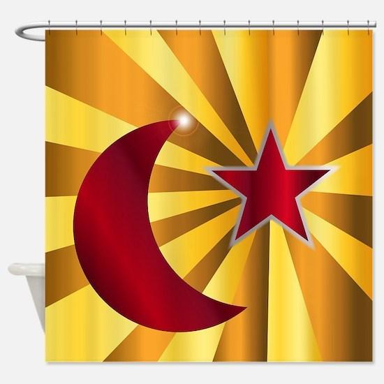 Unique Islamic Shower Curtain