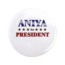 "ANIYA for president 3.5"" Button"