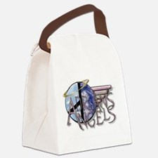 AA World Canvas Lunch Bag