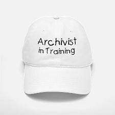 Archivist in Training Baseball Baseball Cap
