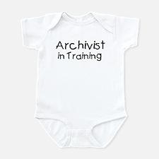 Archivist in Training Infant Bodysuit