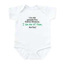 1 In 133 Has Celiac Disease 1.1 Infant Bodysuit