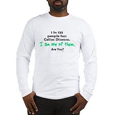 1 In 133 Has Celiac Disease 1.1 Long Sleeve T-Shir