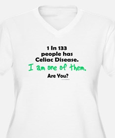 1 In 133 Has Celiac Disease 1.1 T-Shirt