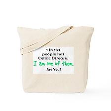 1 In 133 Has Celiac Disease 1.1 Tote Bag