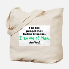 1 In 133 Has Celiac Disease 1.1 Tote Bag