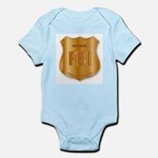 FBI Spoof Shield Badge Body Suit