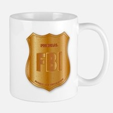 FBI Spoof Shield Badge Mugs