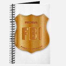 FBI Spoof Shield Badge Journal