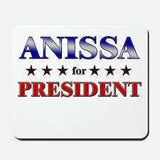ANISSA for president Mousepad