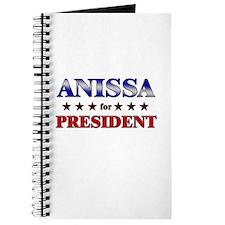 ANISSA for president Journal