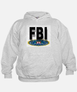 FBI Seal With Text Hoodie