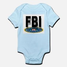 FBI Seal With Text Body Suit