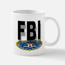 FBI Seal With Text Mugs