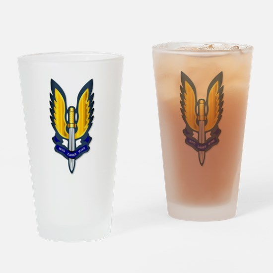 Special Air Service Badge Drinking Glass