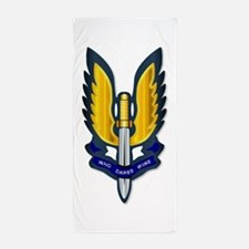 Special Air Service Badge Beach Towel