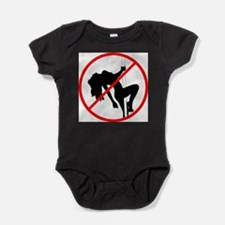 Cute Pole Baby Bodysuit