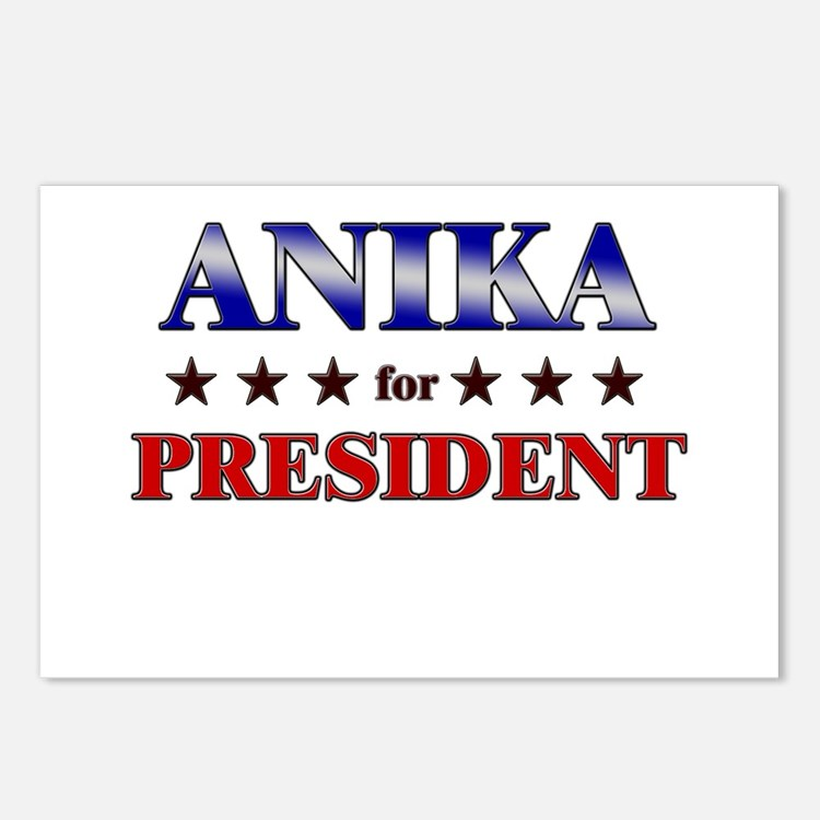 ANIKA for president Postcards (Package of 8)