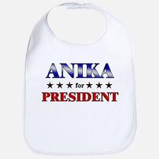 ANIKA for president Bib