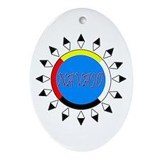 Navajo Oval Ornament