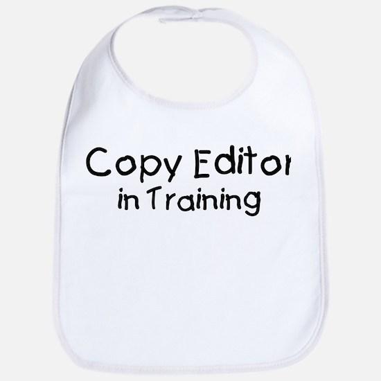 Copy Editor in Training Bib
