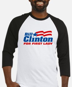 Bill Clinton For First Lady Baseball Jersey