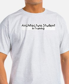 Architecture Student in Train T-Shirt