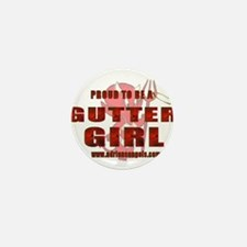 Gutter Girl Mini Button