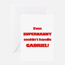 SuperNanny Couldn't Handle Ga Greeting Card