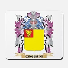 Giacobini Coat of Arms (Family Crest) Mousepad