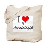 I Love My Angelologist Tote Bag