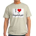 I Love My Angelologist Light T-Shirt