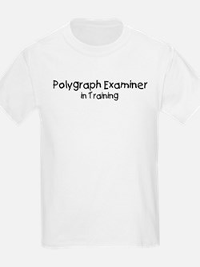 Polygraph Examiner in Trainin T-Shirt