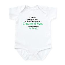 1 In 133 Has Celiac Disease 1.2 Infant Bodysuit