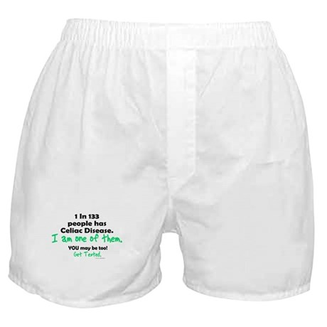 1 In 133 Has Celiac Disease 1.2 Boxer Shorts