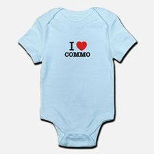 I Love COMMO Body Suit