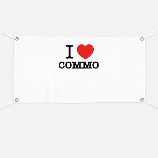 I Love COMMO Banner