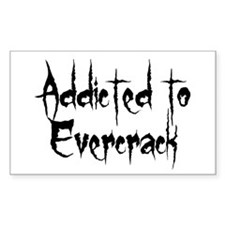 Addicted to Evercrack Rectangle Decal