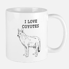 I Love Coyotes Mugs