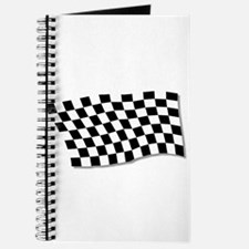 Chequered Flag Fluttering Journal