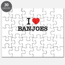 I Love BANJOES Puzzle