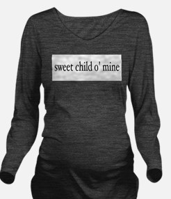 Unique Funny retro Long Sleeve Maternity T-Shirt