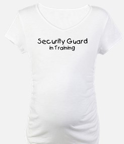 Security Guard in Training Shirt