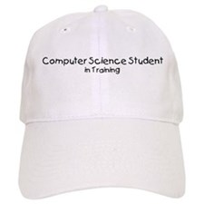 Computer Science Student in T Baseball Cap
