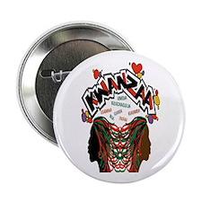 """Kwanzaa 32.25"""" Button"""