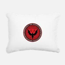 Styxx Was Framed Rectangular Canvas Pillow